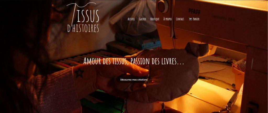 site-web-tissus-d'histoires